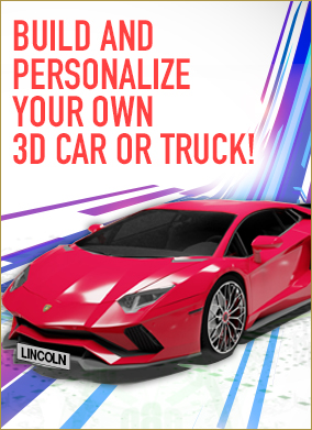 LincolnTech3D - Design your own car