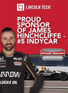 Proud Sponsor of JAMES HINCHCLIFFE - #5 INDYCAR