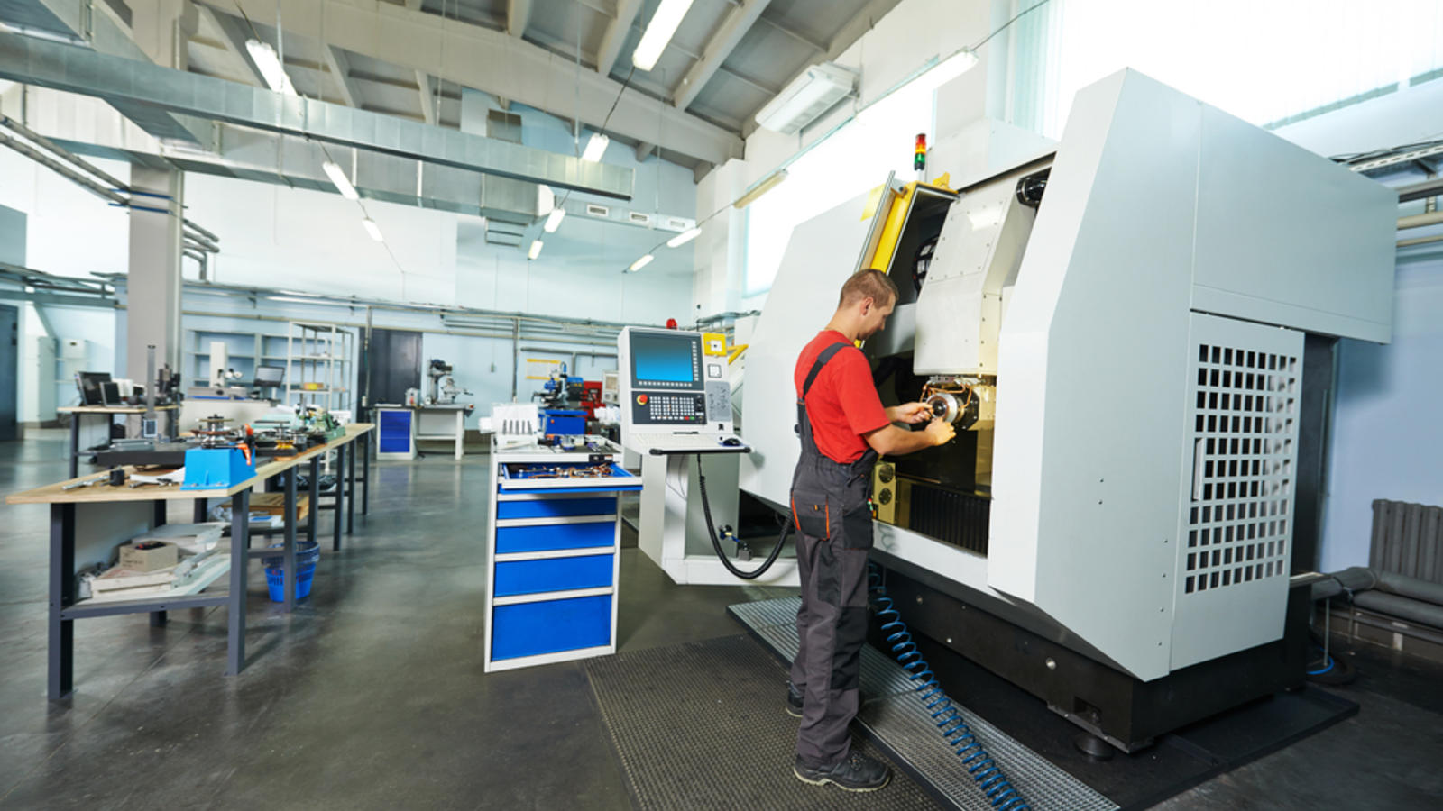 A Day in the Life of a CNC Operator