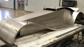 A welding project at Lincoln Tech's Denver welding school trains welders to join complex shapes.