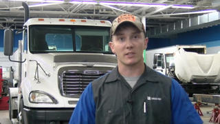 Navy veteran Travis Cox graduated from the Lincoln Tech Diesel technology program, and discusses his new-found success in the field.