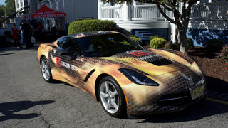 Lincoln Tech's Custom Corvette at Nashville