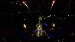 Disney's Nighttime Spectacular Fireworks and Laser Show