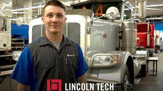 Travis Cox is a Lincoln Tech graduate who won the National Tech Competition.sel rig