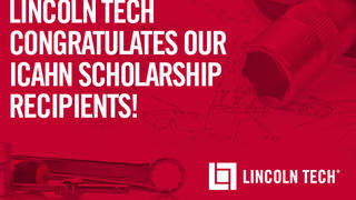 Lincoln tech congratulates its eight Icahn scholarship winners.