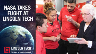 Lincoln Tech and NASA Launch New Opportunities For Students