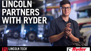 Ryder Partners With Lincoln Tech