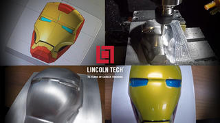 Iron Man Mask Comes to Lincoln Tech in Indianapolis