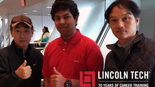 Lincoln Tech Student Meets With Nissan Motors Executives