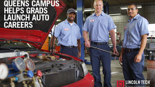 New York Auto Careers Begin at Lincoln Tech