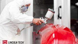 Create custom paint jobs with Lincoln Tech training!