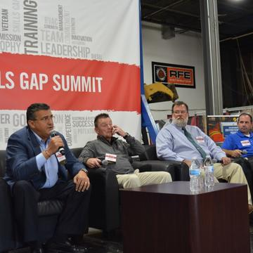 Panel of Guest Speakers Attend the Skills Gap Summit
