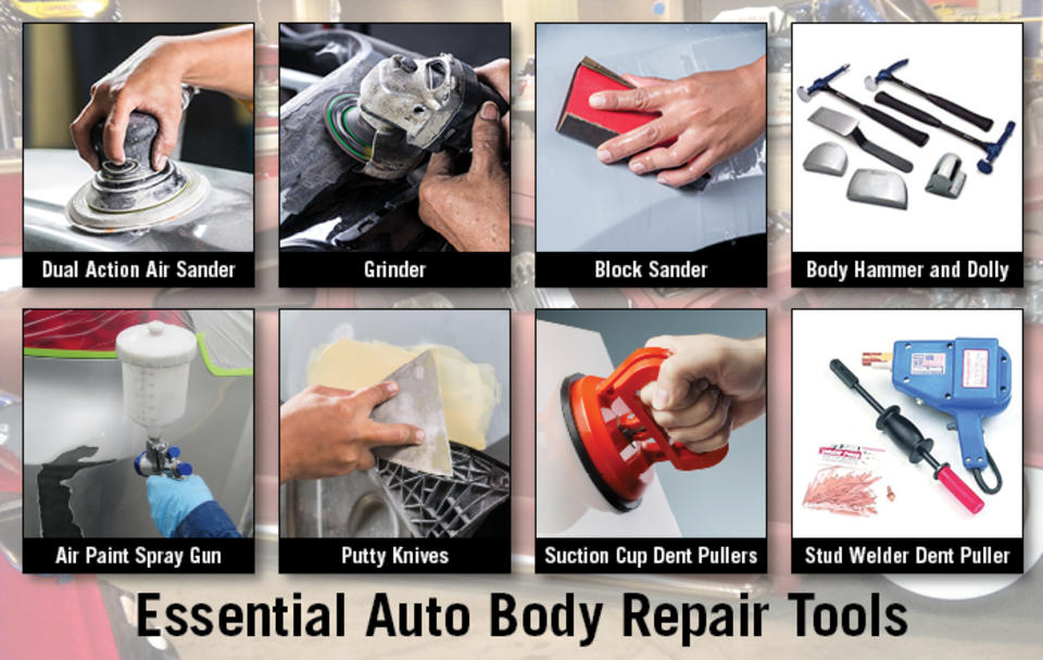 Essential Auto Body Repair Tools for Collision Professionals