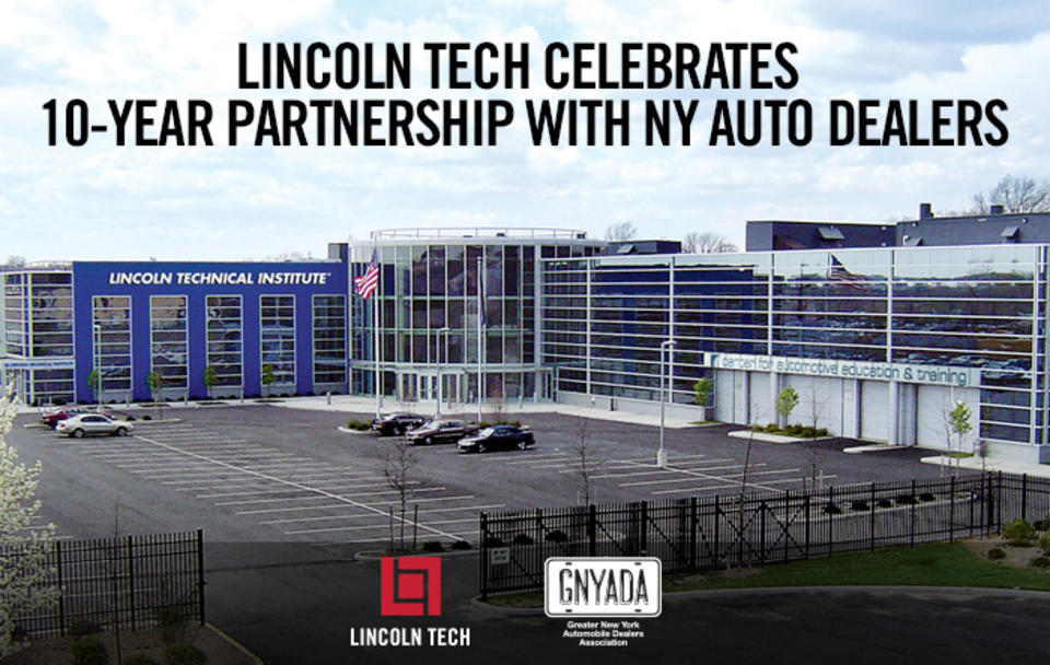 Lincoln Tech Celebrates 10-Year Partnership with Auto Dealers