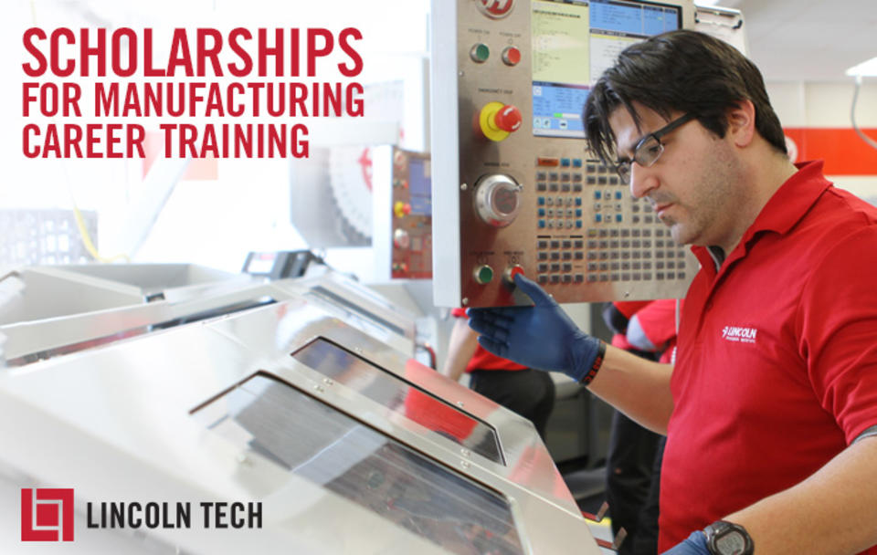 Haas Automation Inc. funds Grant for Career Training Scholarship.
