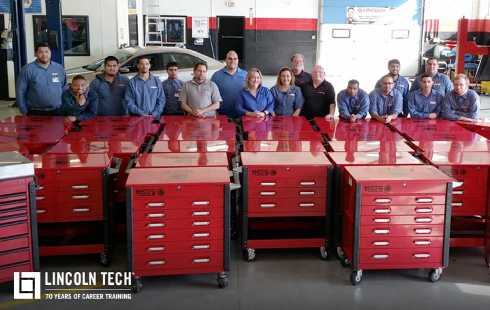 Matco Tools Lincoln Tech Provide Tool Kits To Students