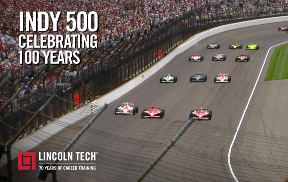 Lincoln Tech Graduates Are Part of the Indy 500 Racing Tradition!