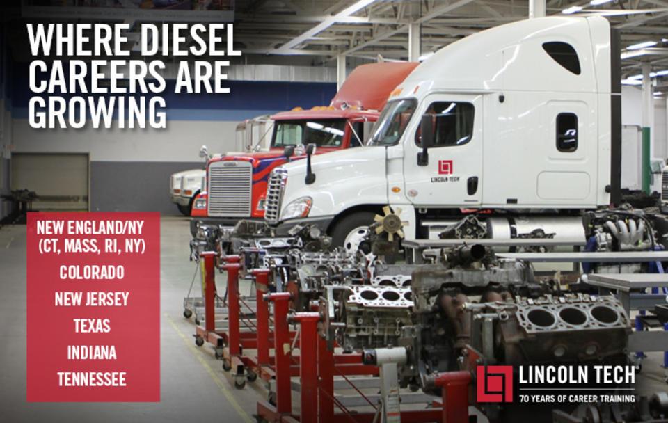 Where Diesel Careers Are Growing