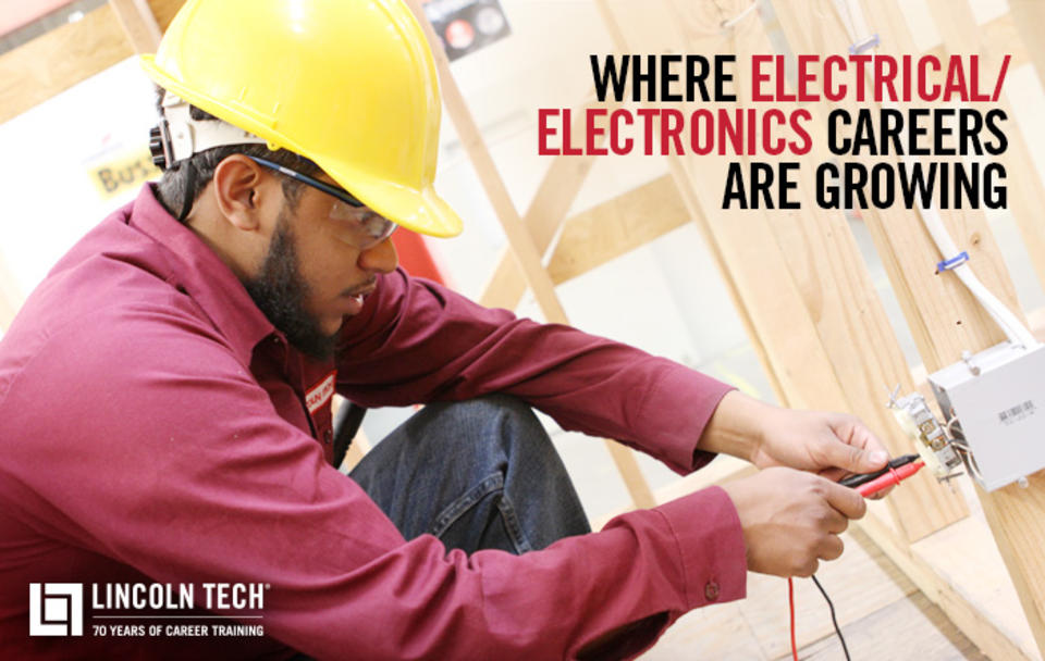 Where Electrical and Electronics Careers are Growing